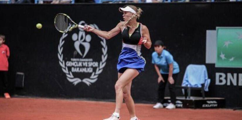 Wozniacki adını çeyrek finale yazdırdı