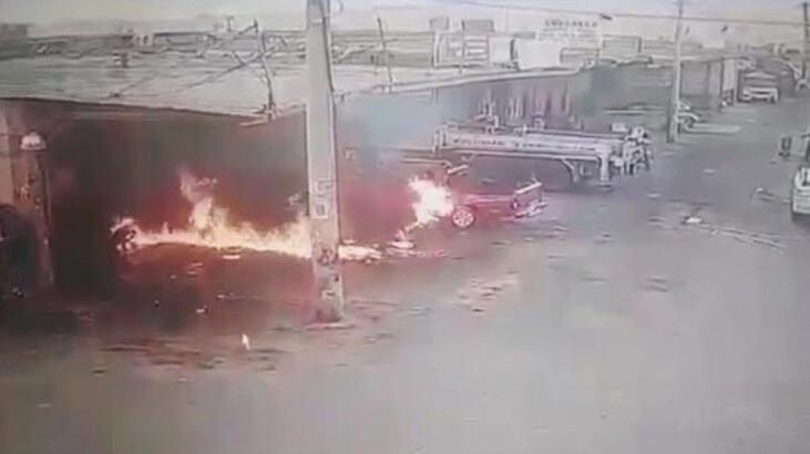 İzmir'de korkunç olay! 10 yaşındaki çocuk alevler içinde kaldı