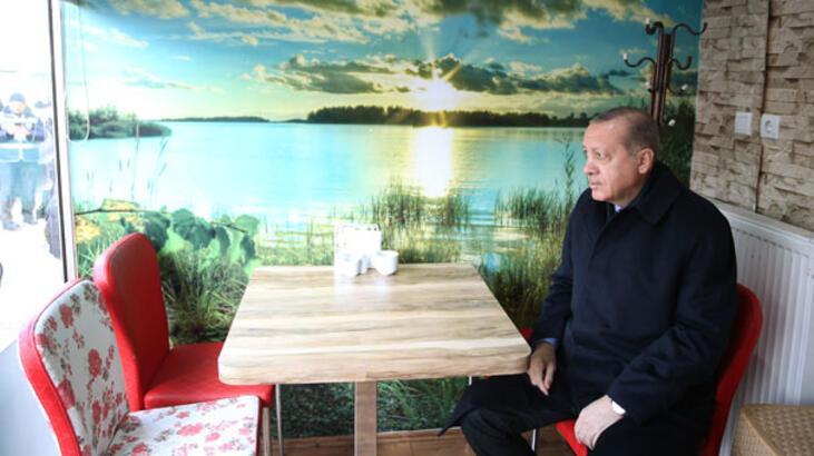 Erdoğan Börekçiye gitti!