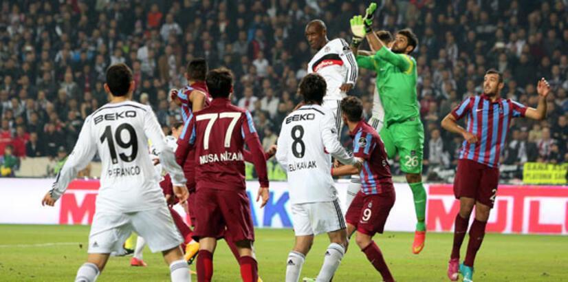 Trabzonspor'un konuğu Beşiktaş