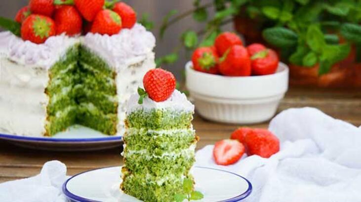 Şaşırtan bir lezzet: Ispanaklı Kek