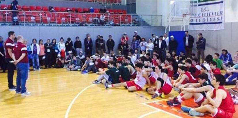Küçükçekmece'de 'Streetball Turnuvası' heyecanı başladı