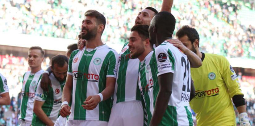 Atiker Konyaspor kalesini gole kapattı