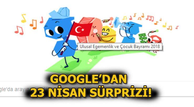 Google, 23 Nisan için özel Doodle yayınladı!
