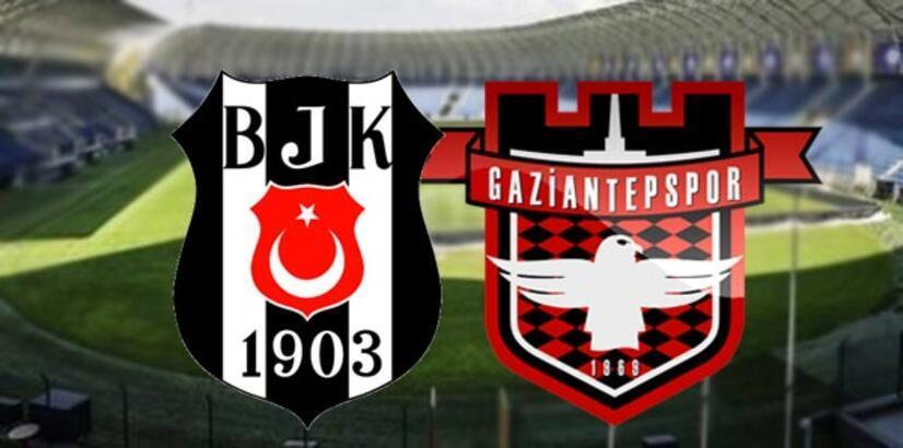 Beşiktaş Gaziantepspor maç sonucu ve özeti