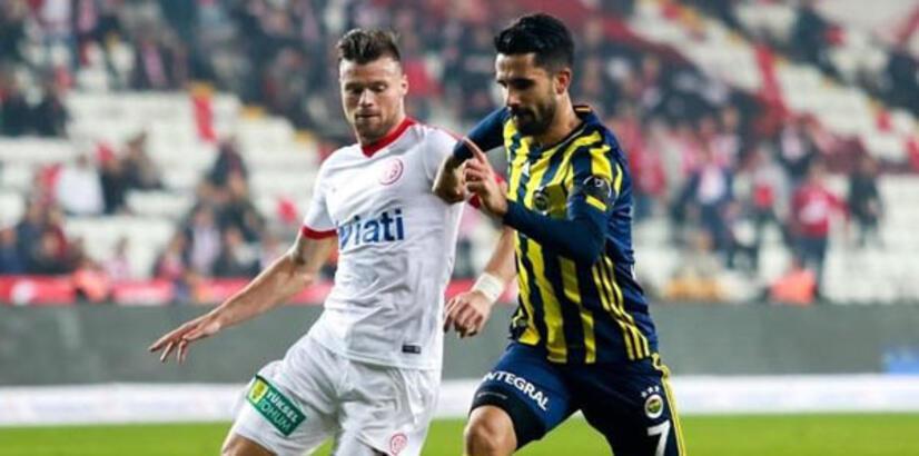 Fenerbahçe'nin konuğu Antalyaspor