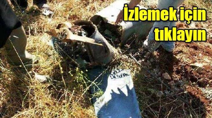 F-16'ların vurduğu İHA, İran yapımı 'Muhacir'