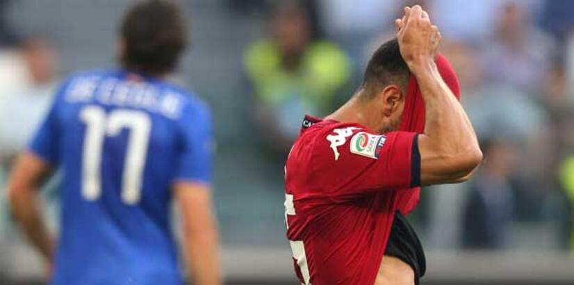 İtalya'da düşen son takım Cagliari