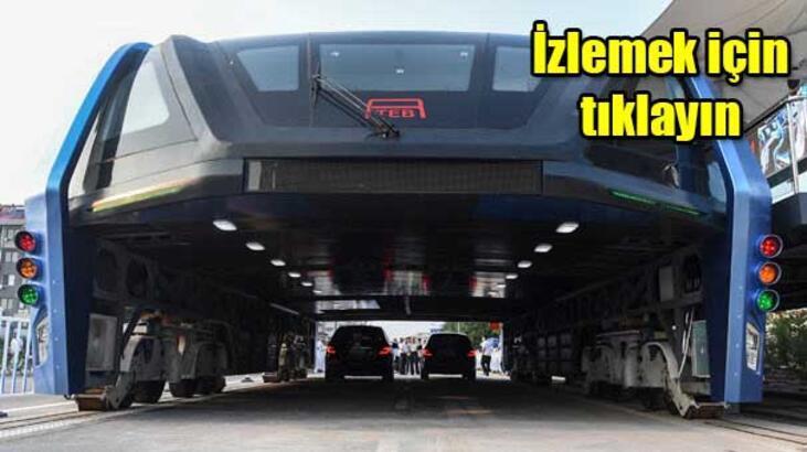 Dev Çin otobüsü testi geçti!