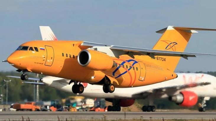 Son dakika... Rusya'da dehşet! 71 kişilik yolcu uçağı Moskova'da düştü!