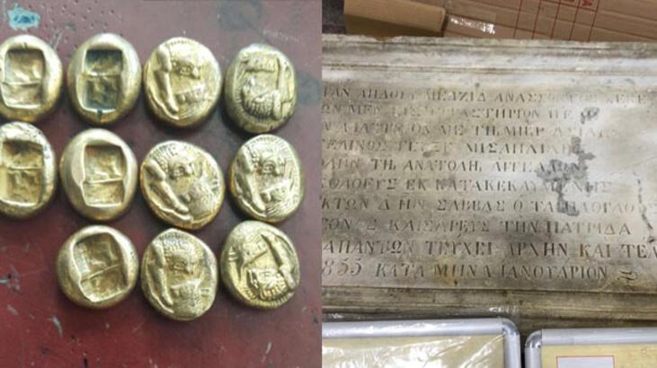 Son dakika: İstanbul polisinden tarihi operasyon! 2 bin 500 yıl önce basılmış...