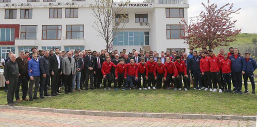 Trabzonspor barbekü partisi