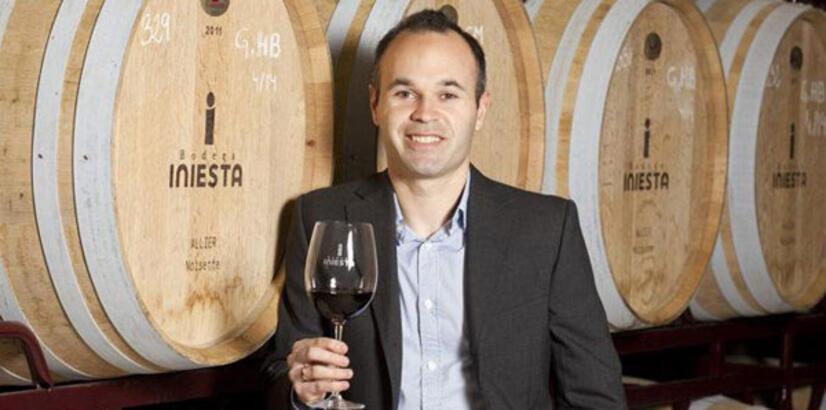 Iniesta 2 milyon şişe şaraba transfer oldu