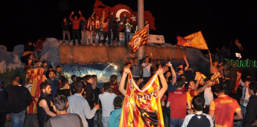 Galatasaraylı taraftarlar coştu!