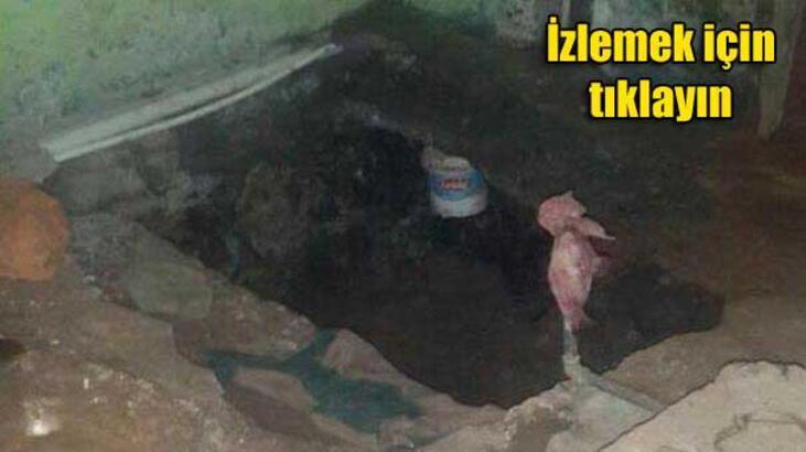 Teröristler 8'inci Ana Jet Üssü'ne 'tünelle' girmeye çalıştı