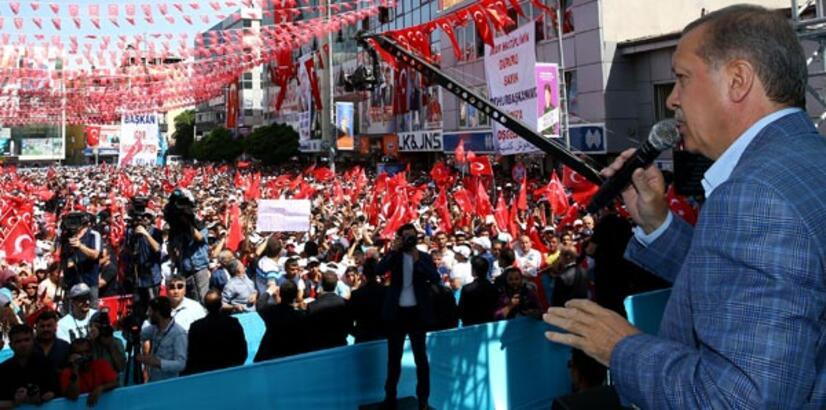 Cumhurbaşkanı Erdoğan'dan Erzurum'da önemli açıklamalar
