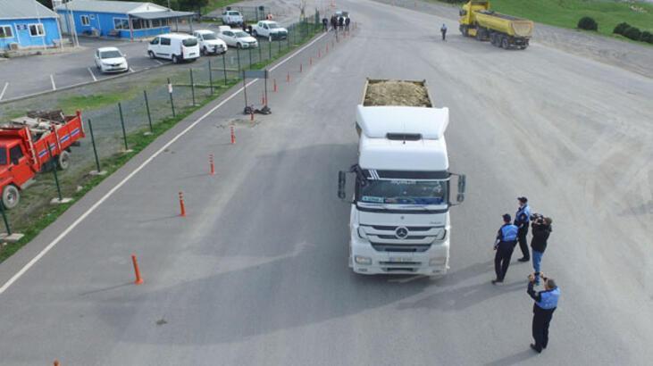 Hafriyat kamyonlarına takip cihazı böyle takılıyor!