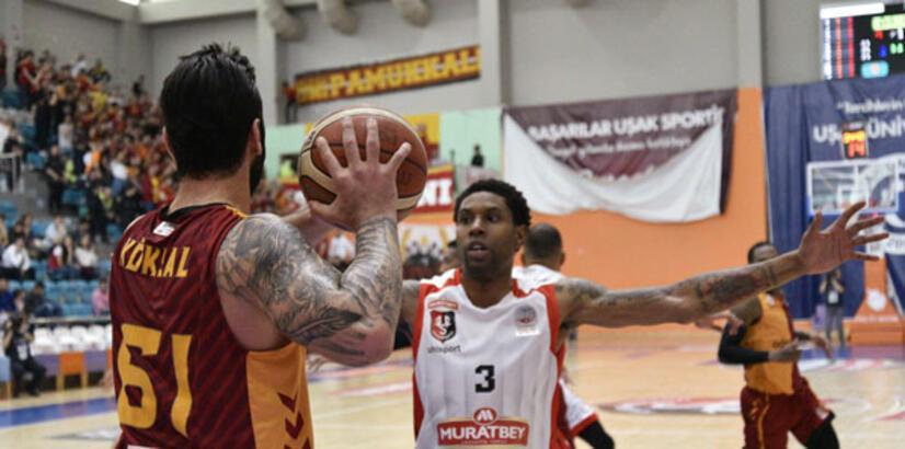 Muratbey Uşak-Galatasaray Odeabank: 85-78
