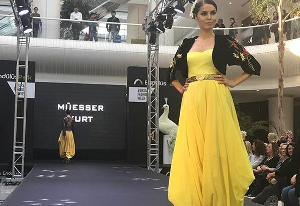 Bursa Fashion Week'te Balkan rüzgarı