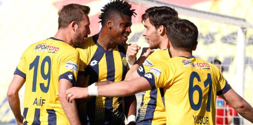 Ankaragücü Süper Lig'e kilitlendi