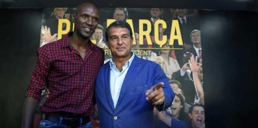 Barcelona'da Laporta başkanlığa aday oldu