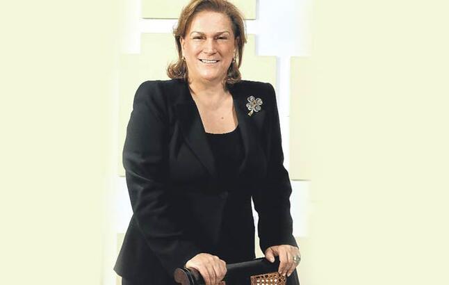 Zirvedeki Türk kadını