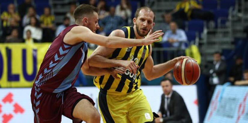 Fenerbahçe Doğuş-Trabzonspor: 112-83