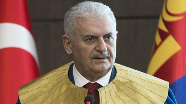 Başbakan Binali Yıldırım'a fahri doktora