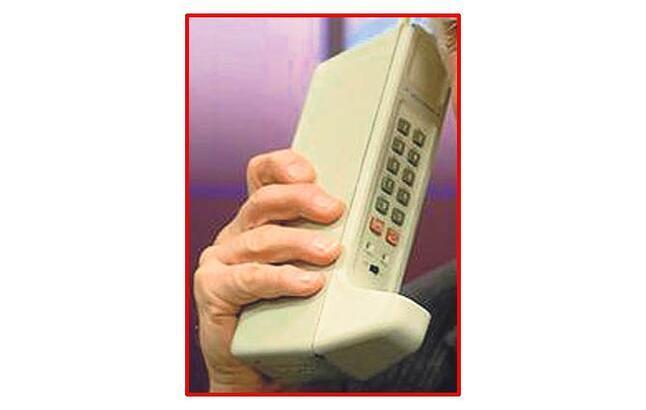 İlk cep telefonu artık antika!..