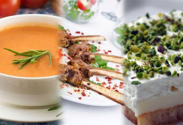 Ramazan'da iftar menüsü