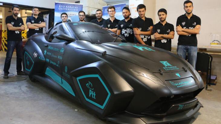 Üniversite öğrencileri elektrikli yerli otomobil üretti ...