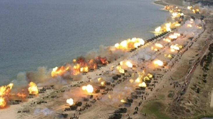 Son dakika... Kuzey Kore'den gövde gösterisi! Yüzlerce tank aynı anda...