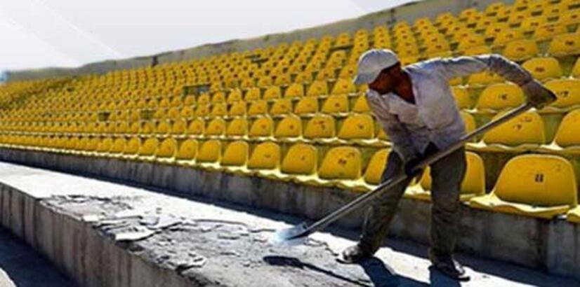 Malatya İnönü Stadı yeni sezona hazırlanıyor
