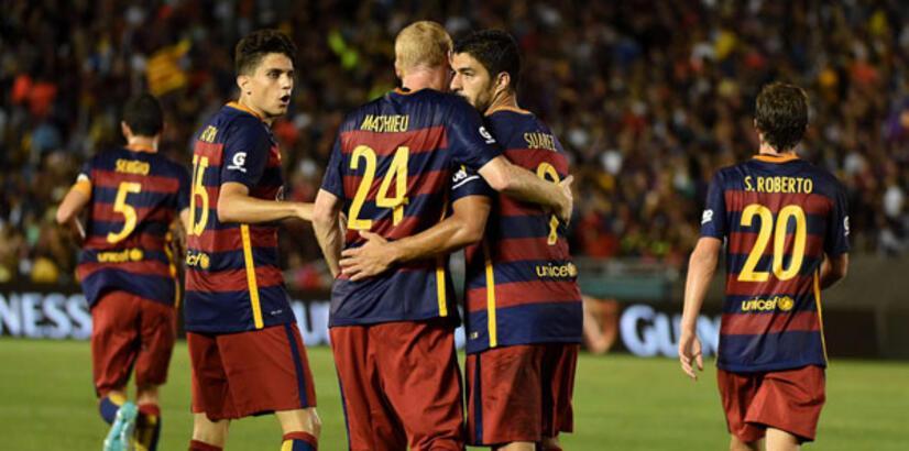 Arda'sız Barcelona Galaxy'yi yendi!
