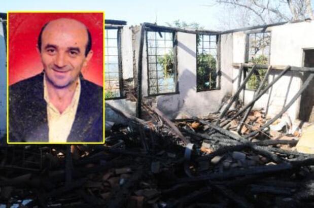 Cesedi yanan evde bir gün sonra bulundu