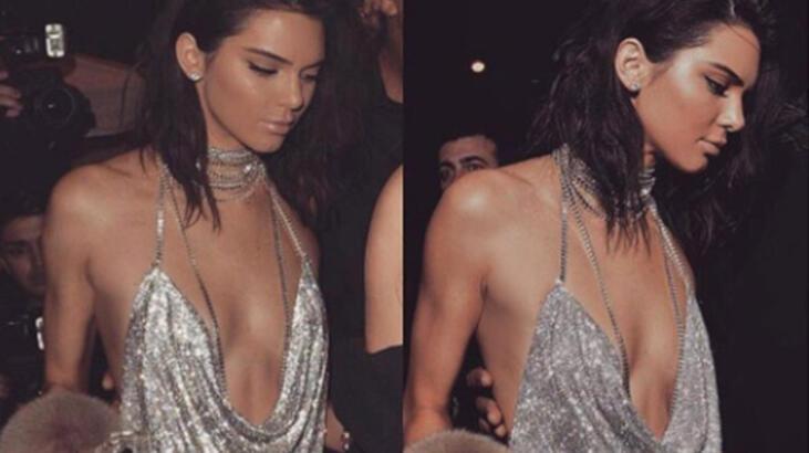 Kendall Jenner'dan mayolu selfie
