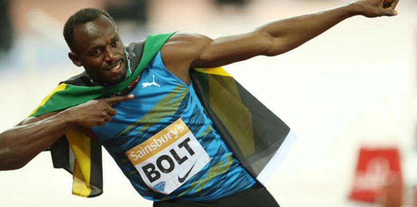 Usain Bolt'tan sezonun en iyi derecesi!