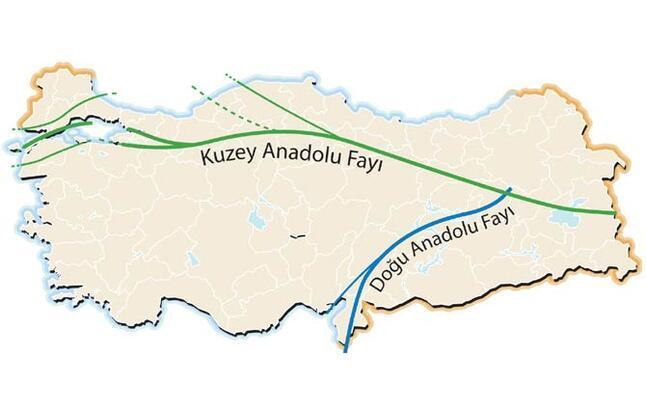 Kuzey Anadolu Fayı korkutuyor