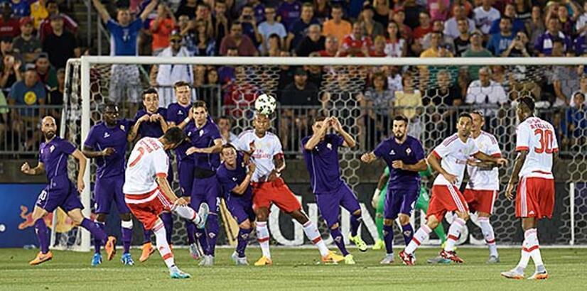 Fiorentina, Benfica'yı penaltı atışlarıyla 5-4 yendi