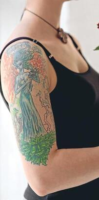 Dövme sanatı ve cilt sağlığı!