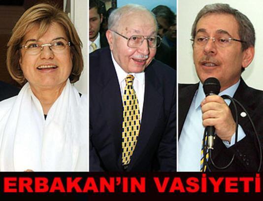 Necmettin Erbakan'ın siyasi vasiyeti