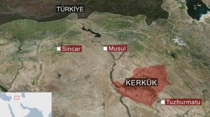 Irak ordusu, stratejik noktalara konuşlandı