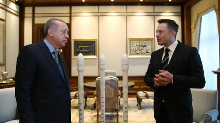 Cumhurbaşkanı Erdoğan, Elon Musk'u kabul etti