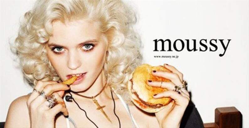 Moussy ve Abbey Lee Kershaw