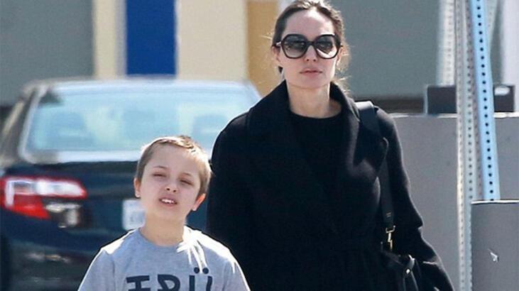 Oğluyla petshop'tan alışveriş yaptı