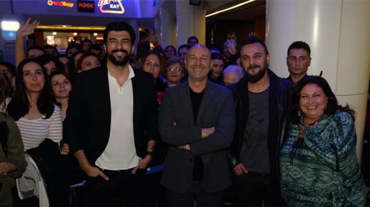 'Çocuklar Sana Emanet' ekibi Bursa'da sinemaseverlerle buluştu!