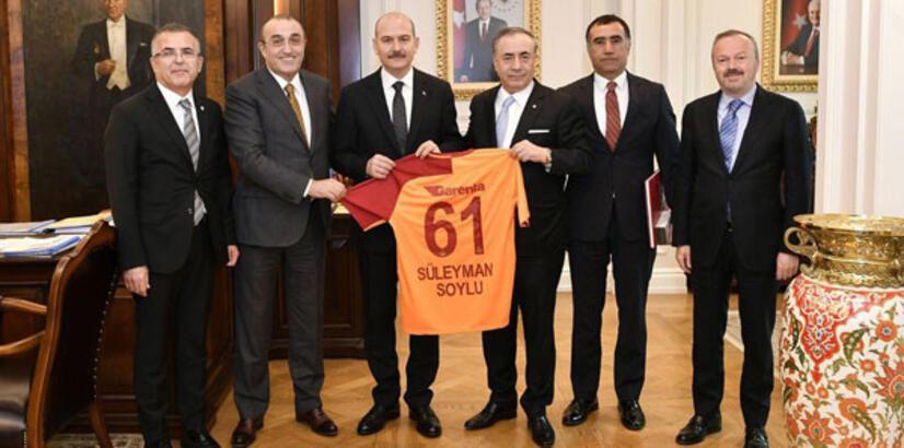 Mustafa Cengiz'den Soylu ve Özhaseki'ye ziyaret