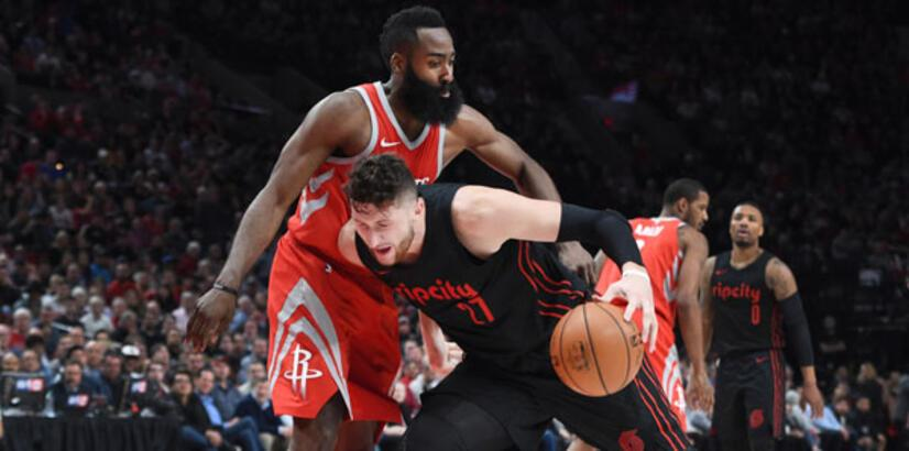 "Rockets, Trail Blazers'a ""dur"" dedi"