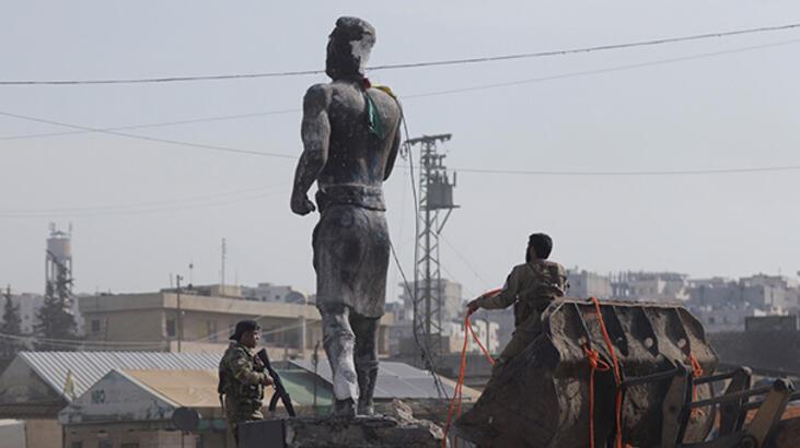 ÖSO'dan Afrin'de yağma suçu işleyenlere yaptırım