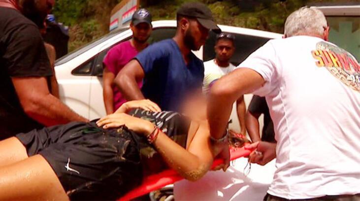 'Survivor'da korkutan kaza! Kanlar içinde hastaneye kaldırıldı